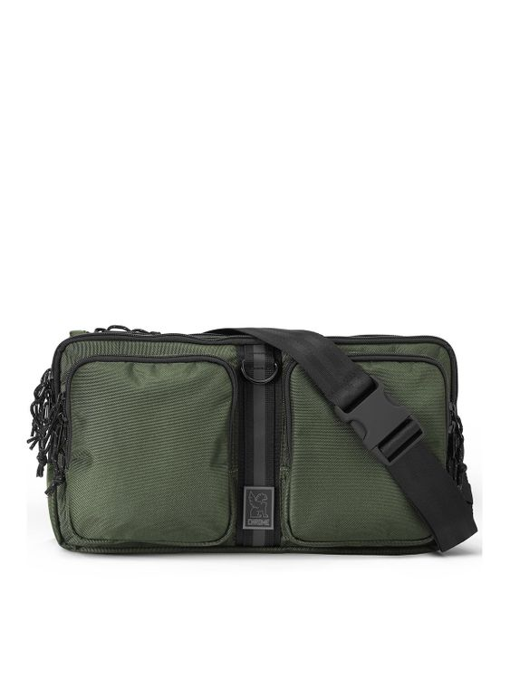 Chrome Industries Chrome Industries MXD Segment Sling Bag Olive Ballistic