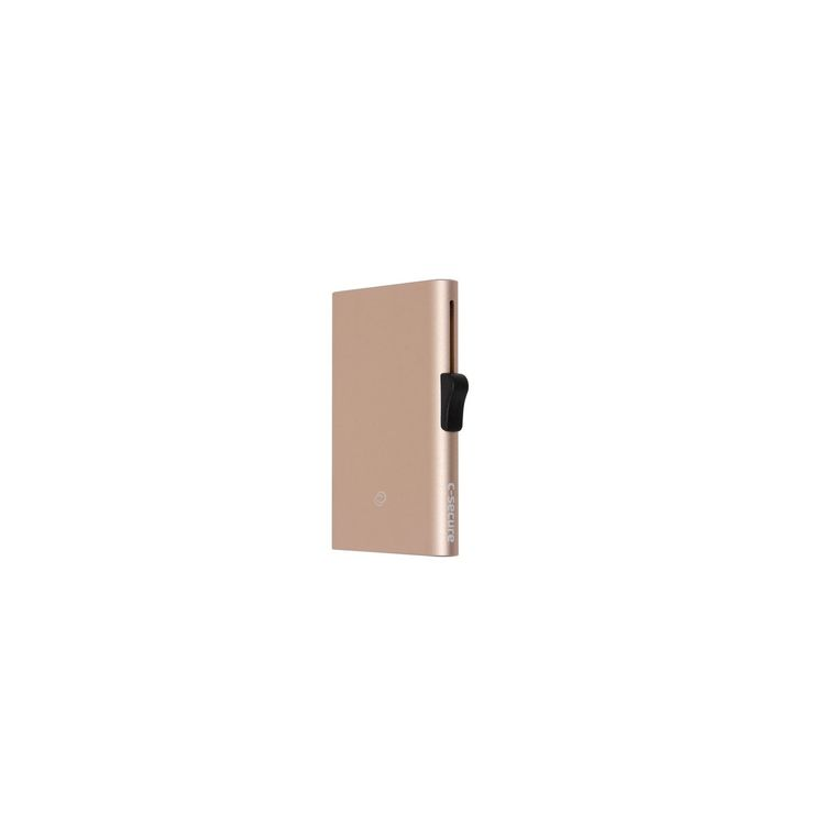 C-Secure C-Secure XL Aluminium RFID Cardholder Champagne Gold