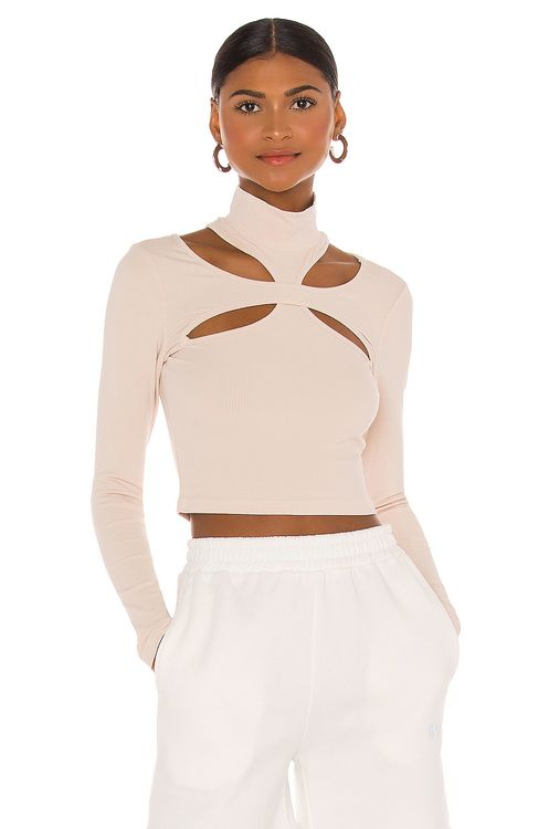 h:ours Alyson Cut Out Top