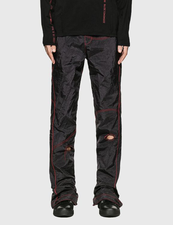 Kanghyuk Readymade Airbag Patched Flare Trouser