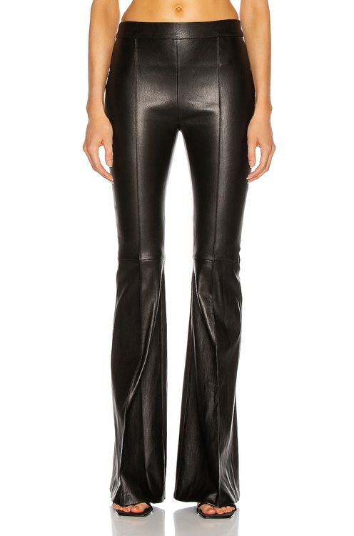 Rosetta Getty Pull On Pintuck Flare Pant