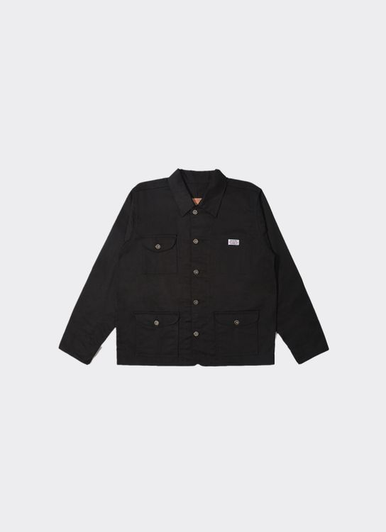 Jackhammer Co Buster Coverall Jacket Onyx