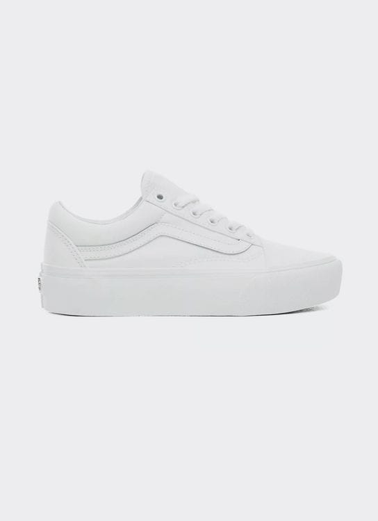 Vans Old Skool Platform - True White