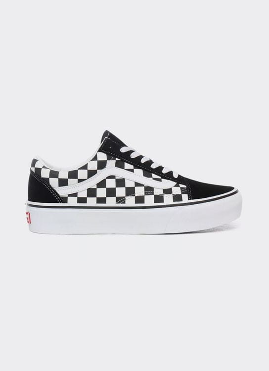 Vans Old Skool Platform - checkerboard