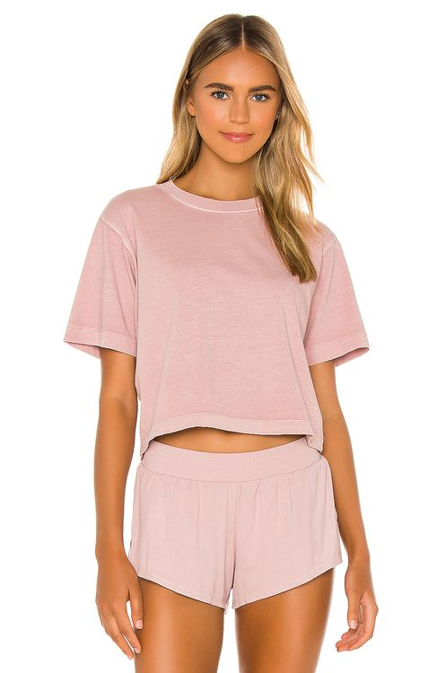 Richer Poorer Relaxed Crop Tee