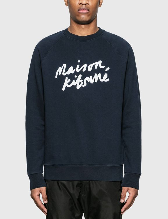 MAISON KITSUNE Handwriting Clean Sweatshirt