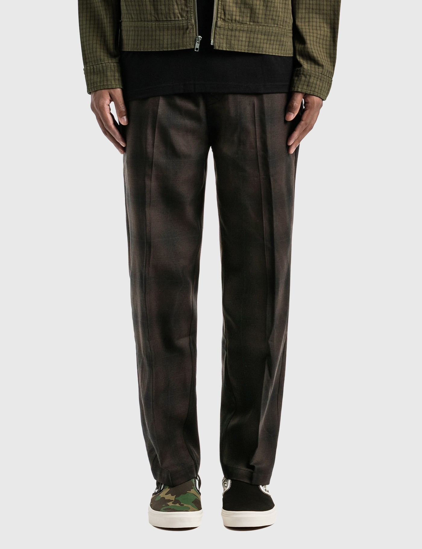 Stussy Shadow Plaid Bryan Pants