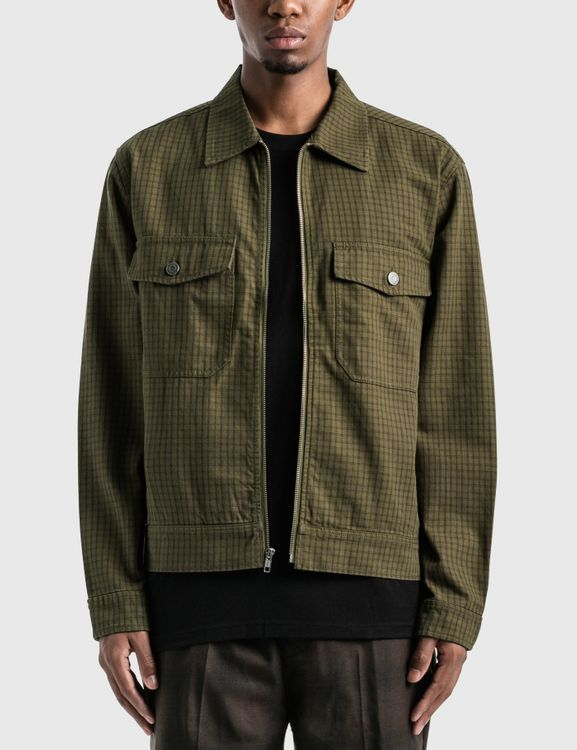 Stussy Check Garage Jacket