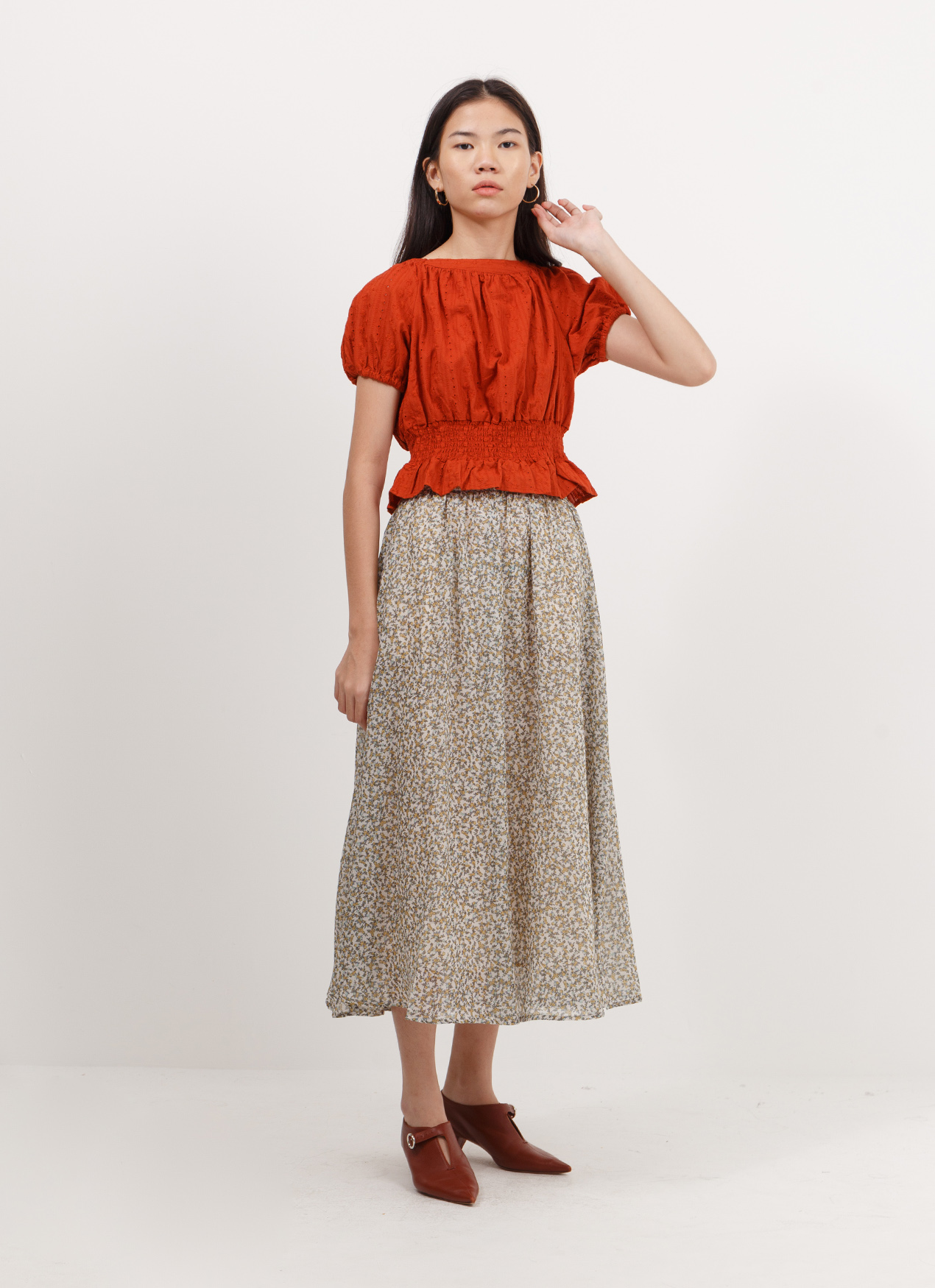 Earth, Music & Ecology Sumiko Top - Terracotta