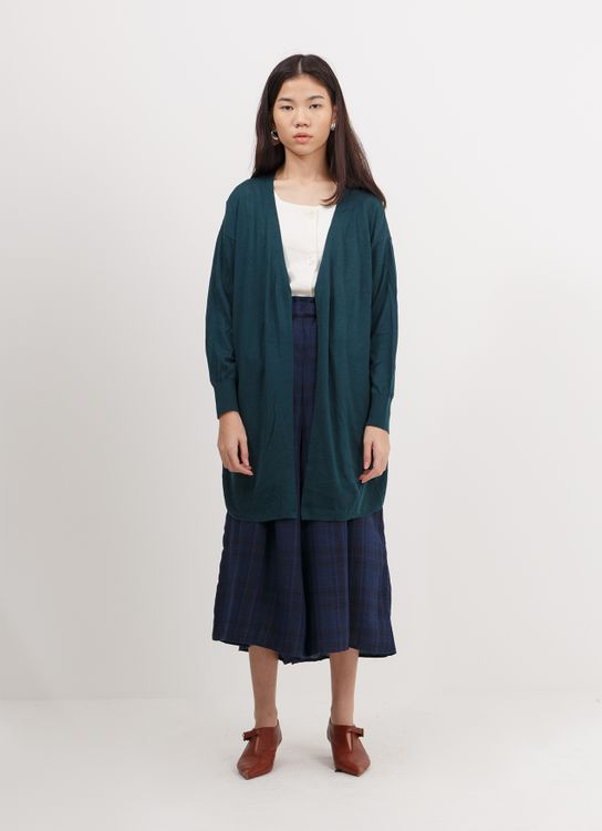 Earth, Music & Ecology Chazmire Cardigan - Dark Green