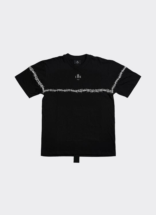 IHS Barbed Wire T-shirt - Black