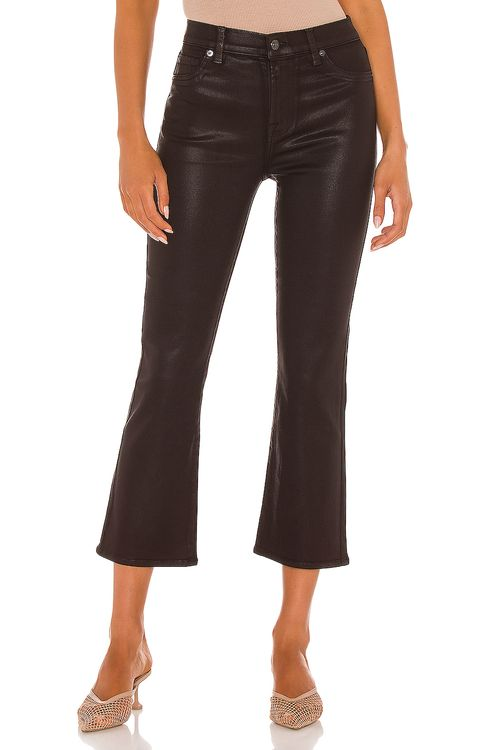 7 for all mankind High Waist Slim Kick With Faux Pockets