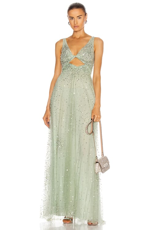 Valentino Embellished Gown