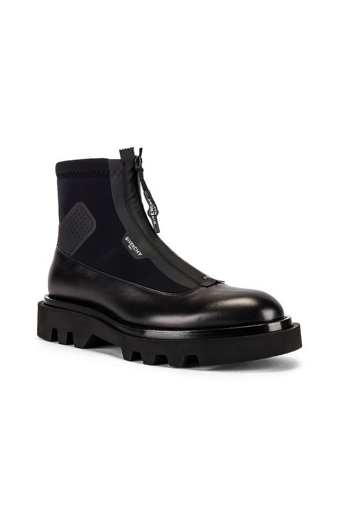 Givenchy Combat Boot With Zip