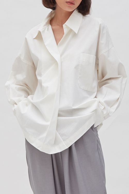 Shopatvelvet Beatrix Shirt White