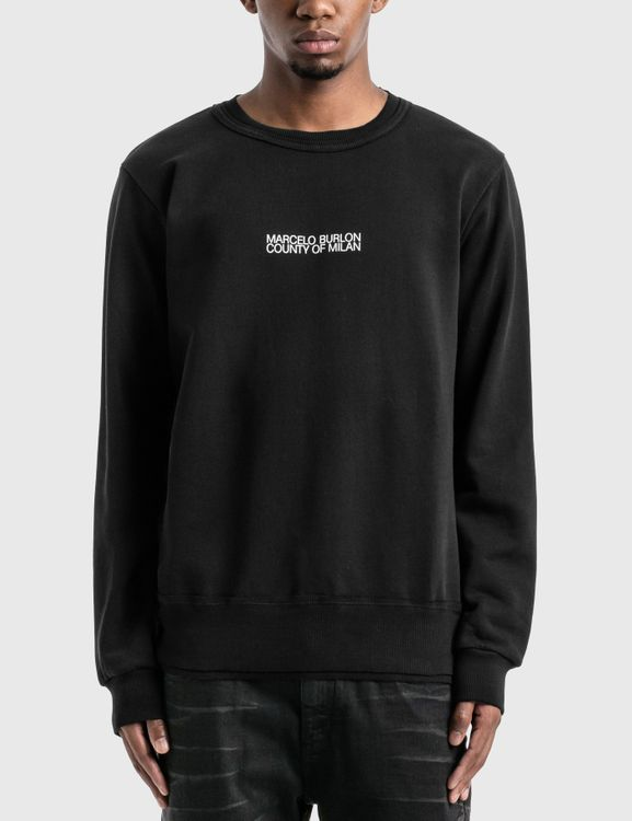 MARCELO BURLON Multi Faces Sweatshirt