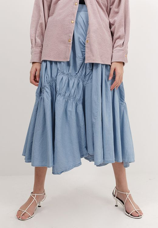 BOWN Bria Skirt - Blue