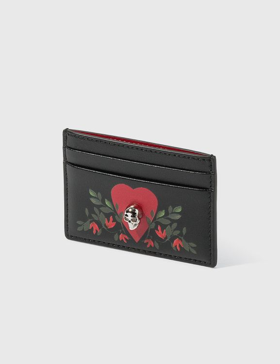 Alexander McQueen Card Holder With Prints