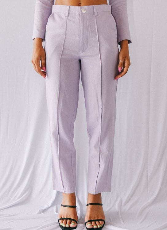 Stain Libra Pants - Berry