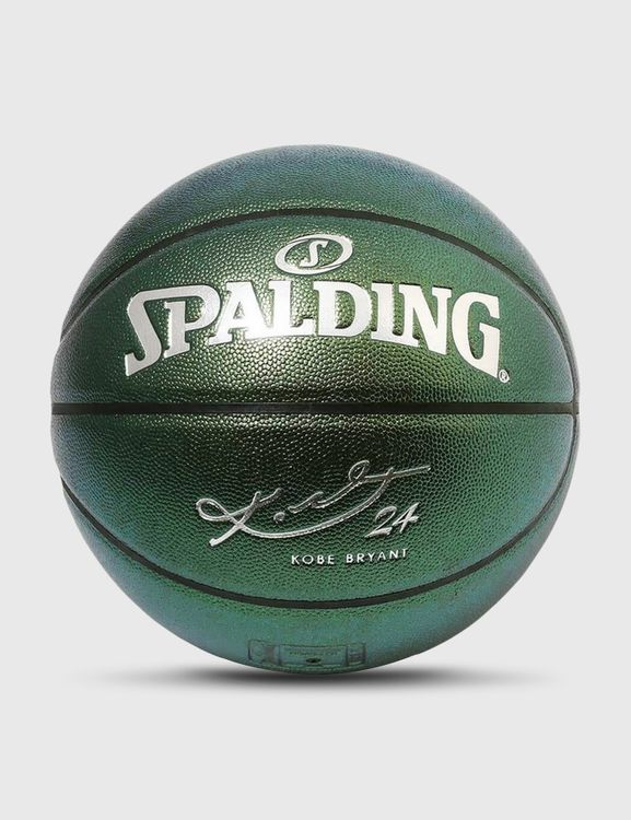 Spalding Kobe Bryant Green Composite Leather Size 7 Basketball