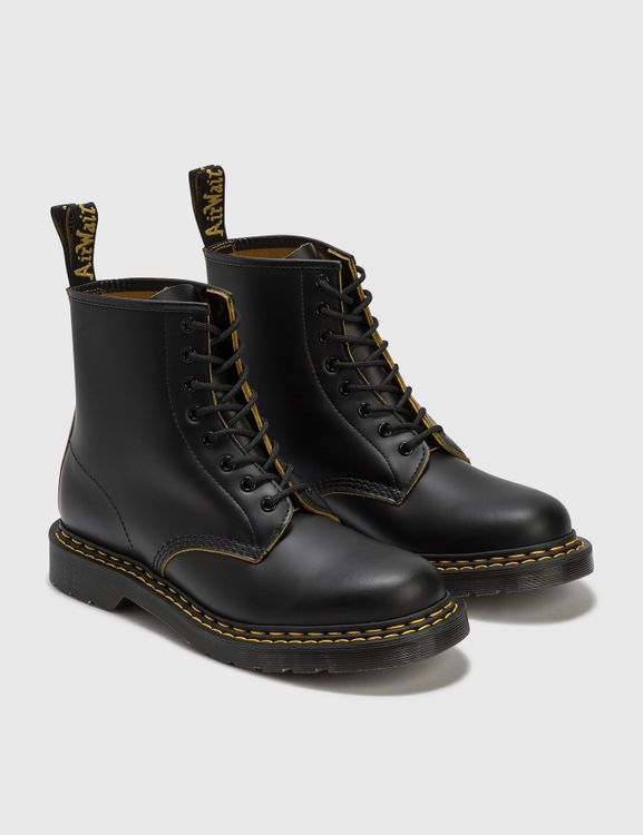 Dr. Martens 1460 Double Stitch Leather Lace Up Boots