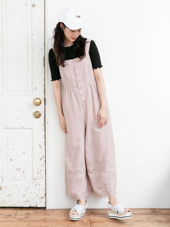 Earth, Music & Ecology Michiko Overall  - Pink Beige