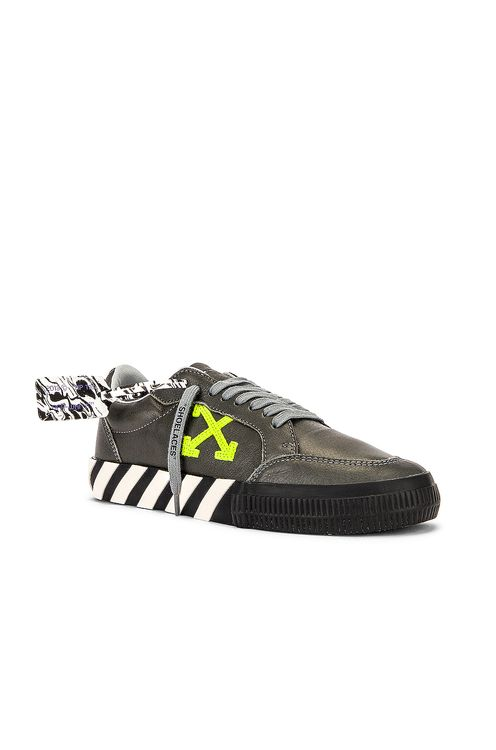 Off-White Low Vulcanized Sustainable Sneaker