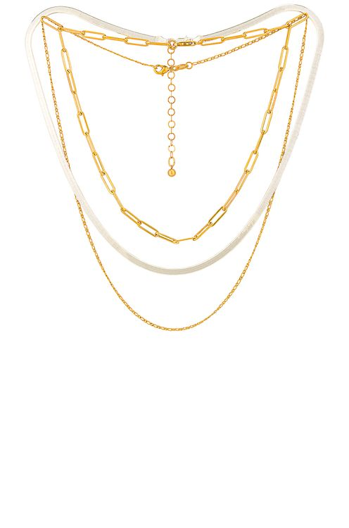 Jordan Road Jewelry for FWRD Samba Necklace Stack