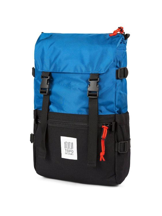 TOPO DESIGNS Topo Designs Rover Pack Blue Black