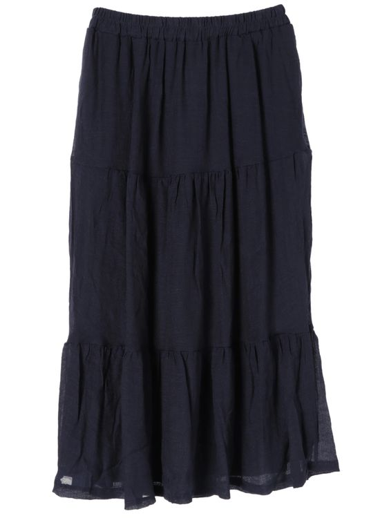 Green Parks Nayaka Skirt - Navy