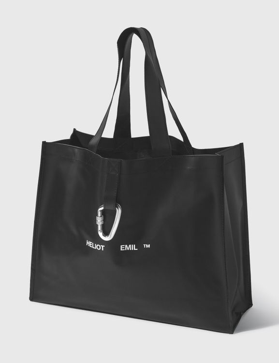 Heliot Emil Rubber Tote Bag