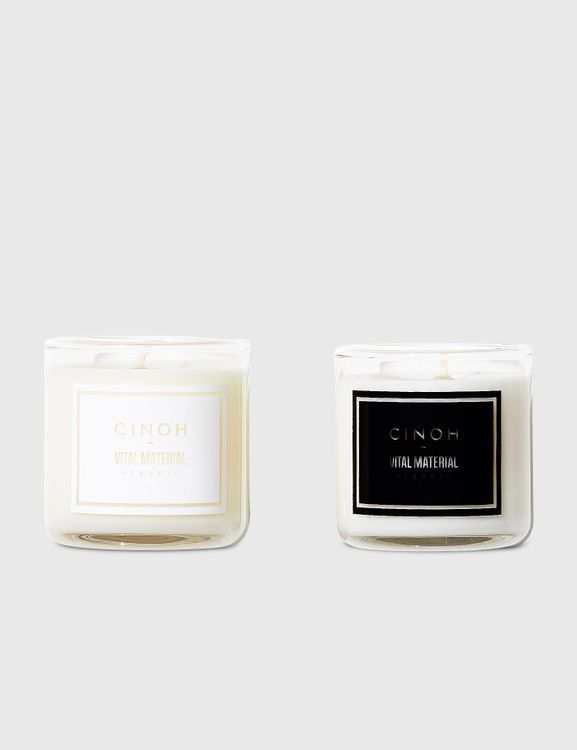 Vital Material VITAL MATERIAL x CINOH Soy Wax Candle Set