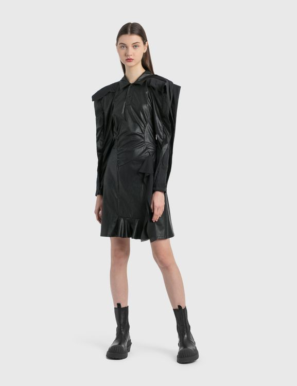 Koché Vegan Leather Dress