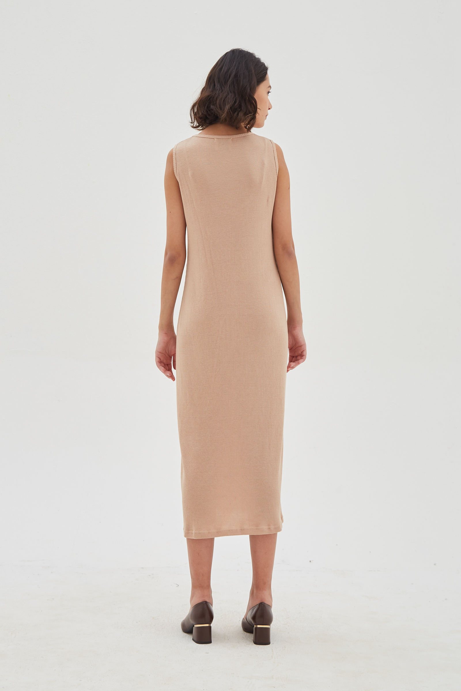 Shopatvelvet Moral Dress Cream
