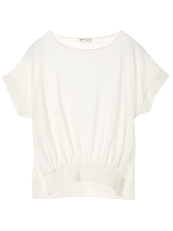 Earth, Music & Ecology Asami Top  - Off White