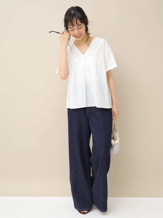 Earth, Music & Ecology Hiro Top - Off White