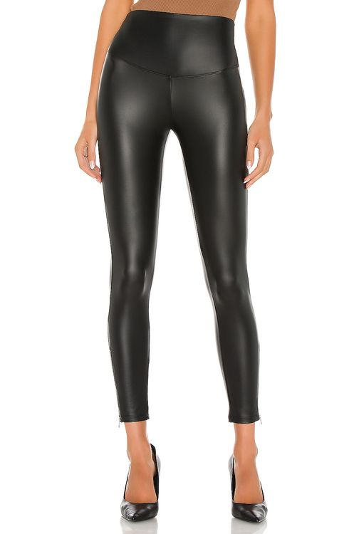 Yummie Faux Leather Leggings