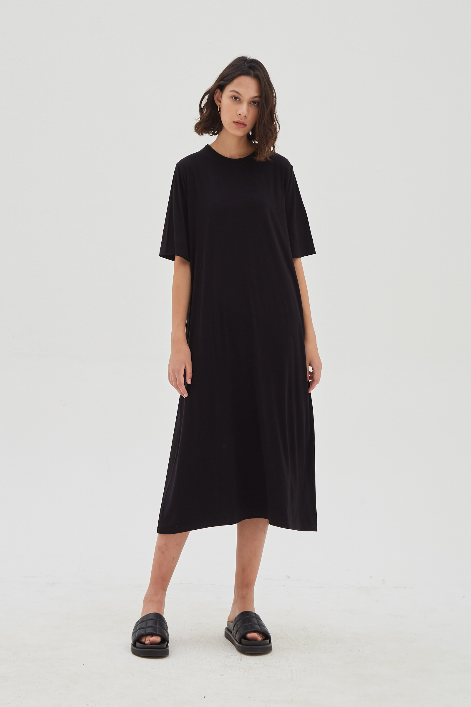Shopatvelvet Core Dress Black
