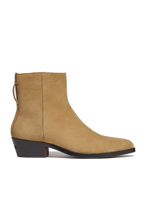 Fear of God Exclusively for Ermenegildo Zegna Suede Leather Texan Boot