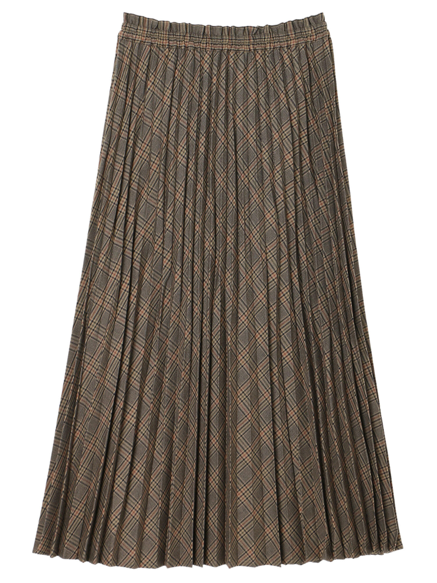 Earth, Music & Ecology Aysen Pleated Skirt - Brown