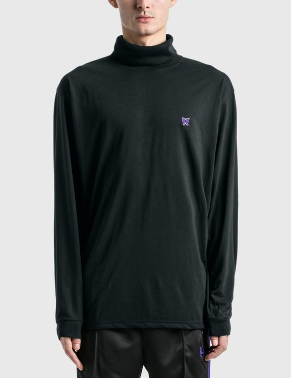Needles Poly Jersey LS Turtle Neck T-shirt
