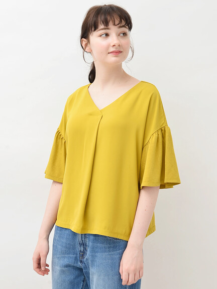 Earth, Music & Ecology Kane Top - Mustard