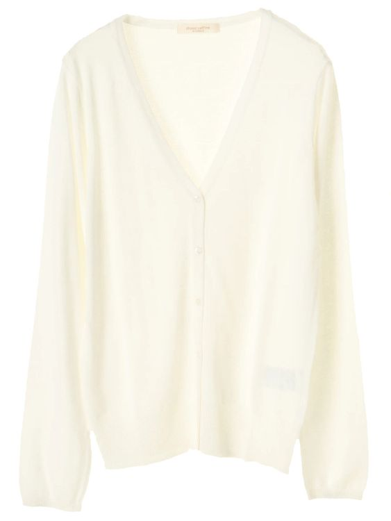 Green Parks Hiroto Cardigan - Off White