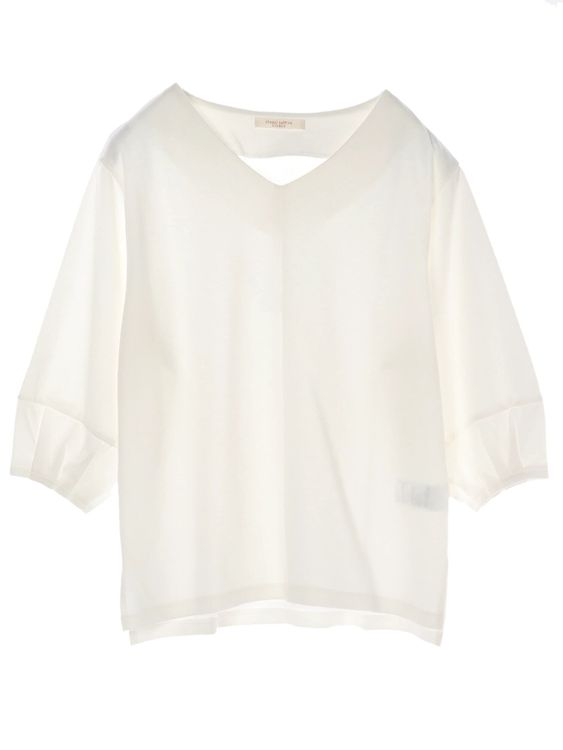 Green Parks Natsu Top - Ivory