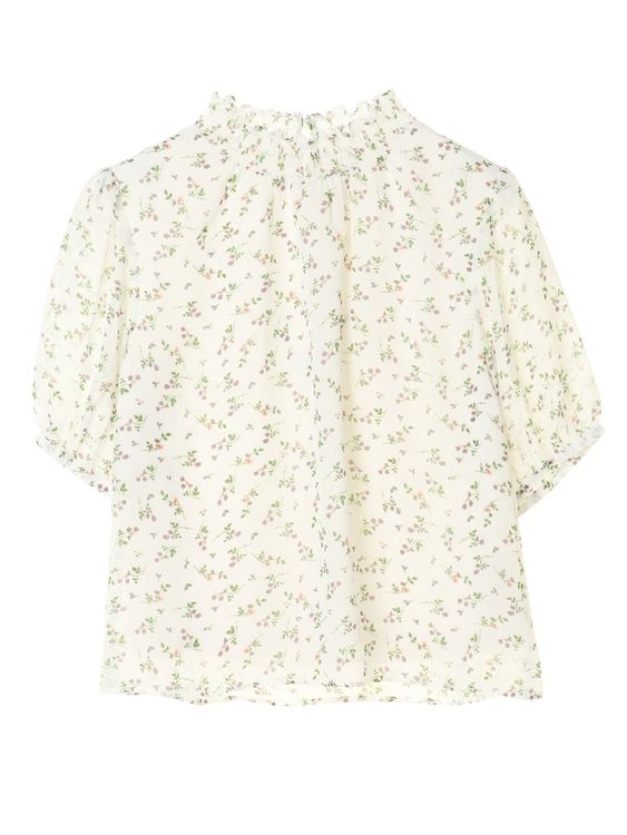 Green Parks Chiasa Top  - Off White