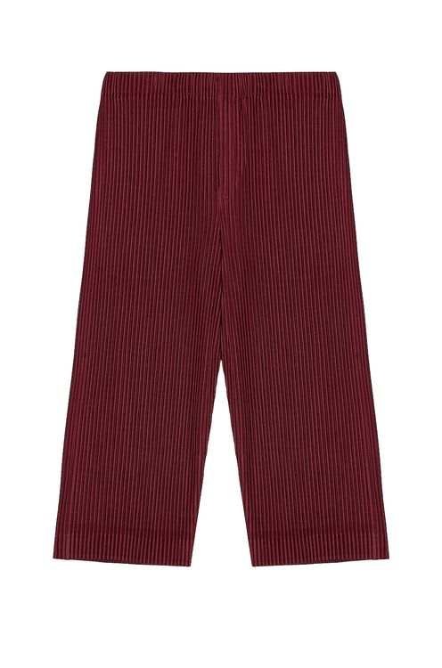 Homme Plisse Issey Miyake Colorful Pleat Crop Straight Pant