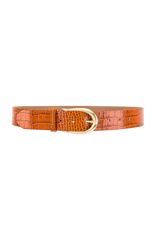 B-Low The Belt Erin Croco Belt