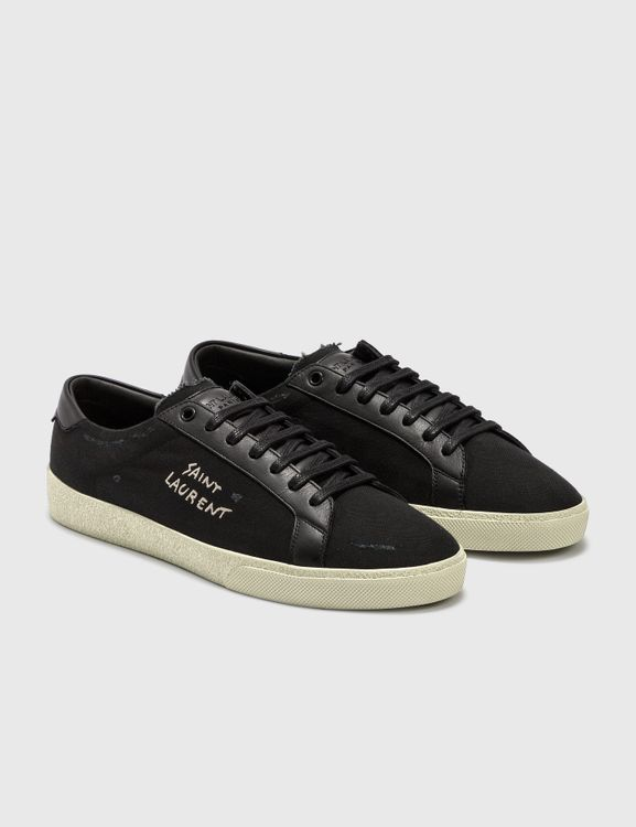 Saint Laurent Court Classic SL/06 Embroidered Sneaker