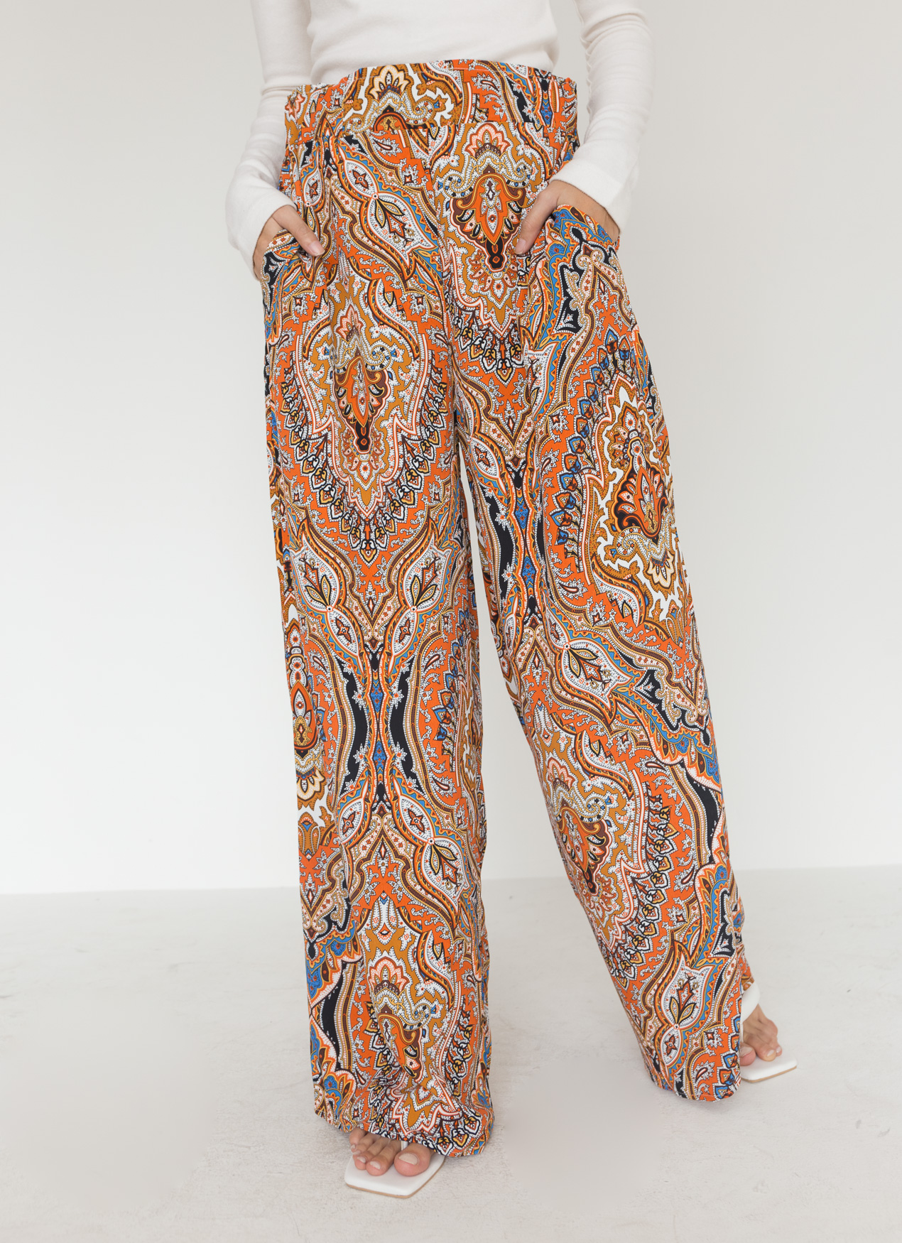 BOWN Tatum Pants - Orange