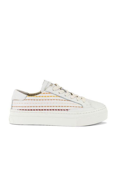 Soludos Quilted Stripe Sneaker